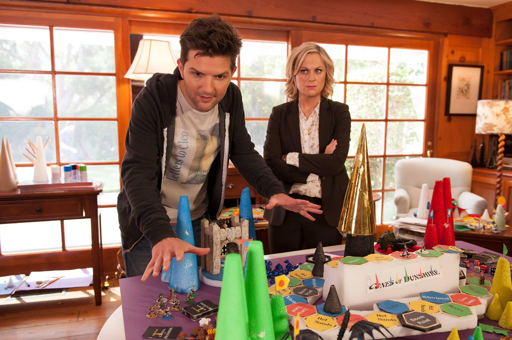 Parks And Rec 39 S 39 Cones Of Dunshire 39 Board Game Kickstarted