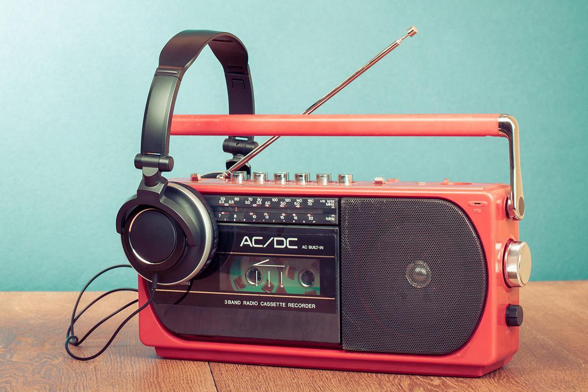 رادیو موزیک قدیمی