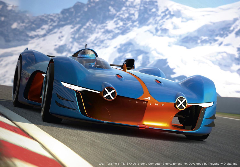 renault alpine concept car