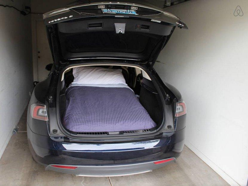 Tesla Model S electric car listed on Airbnb | Digital Trends
