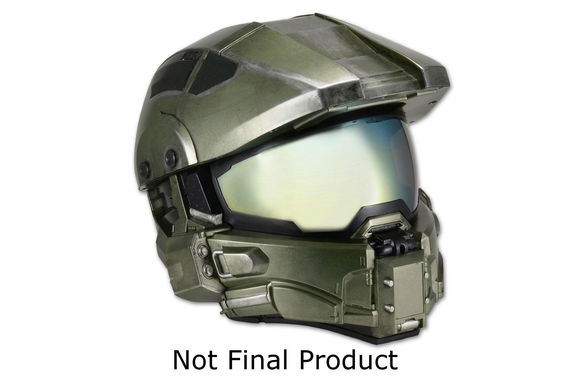 Halo s iconic master chief helmet is now motorcycle safety gear