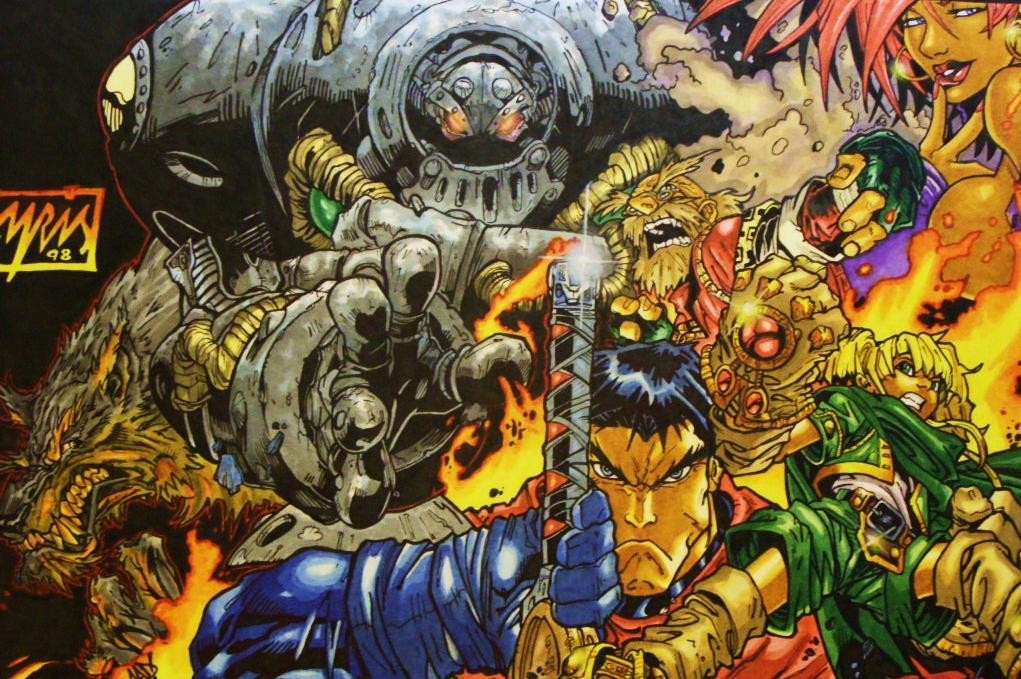 Darksiders Creator Returns To His Battle Chasers Comics