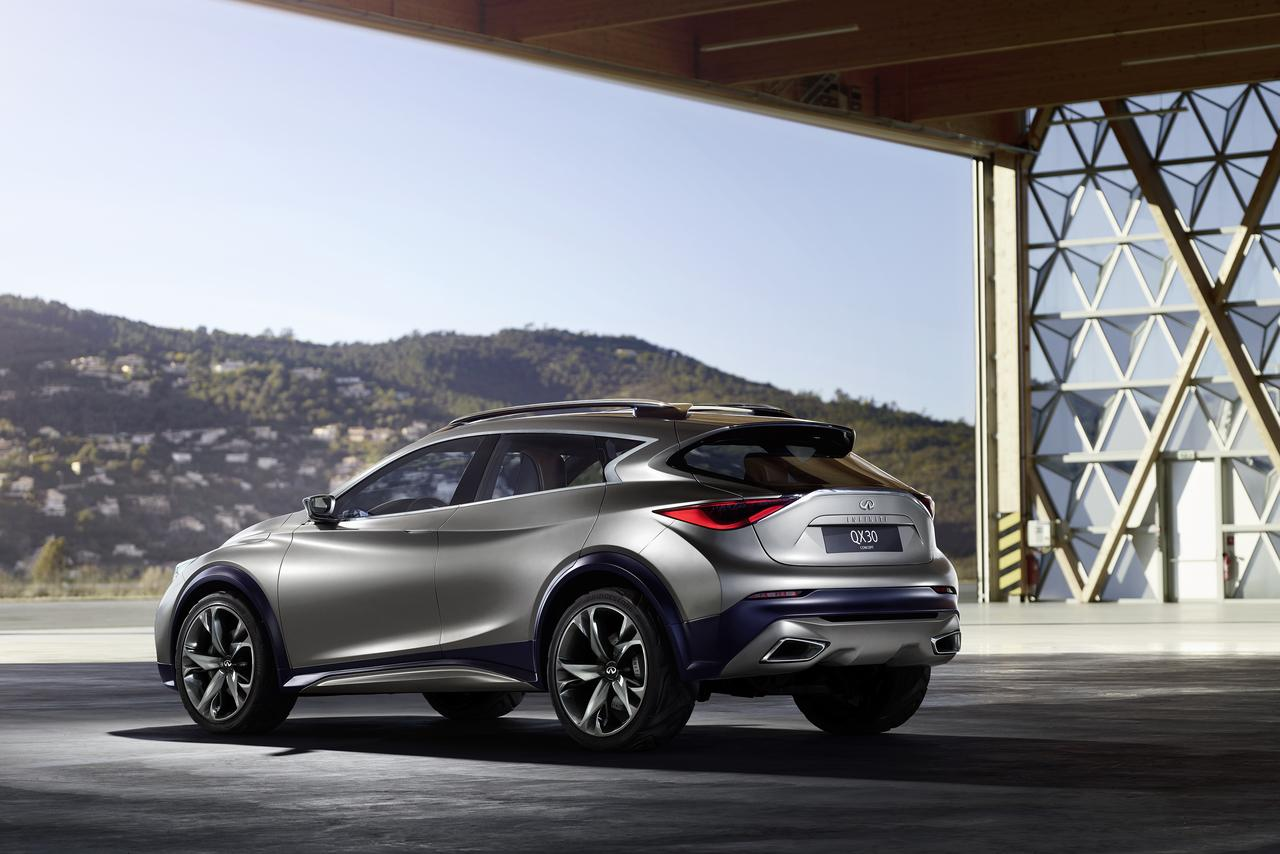 Infiniti previews qx30 concept ahead of geneva motor show for South motors infiniti used cars