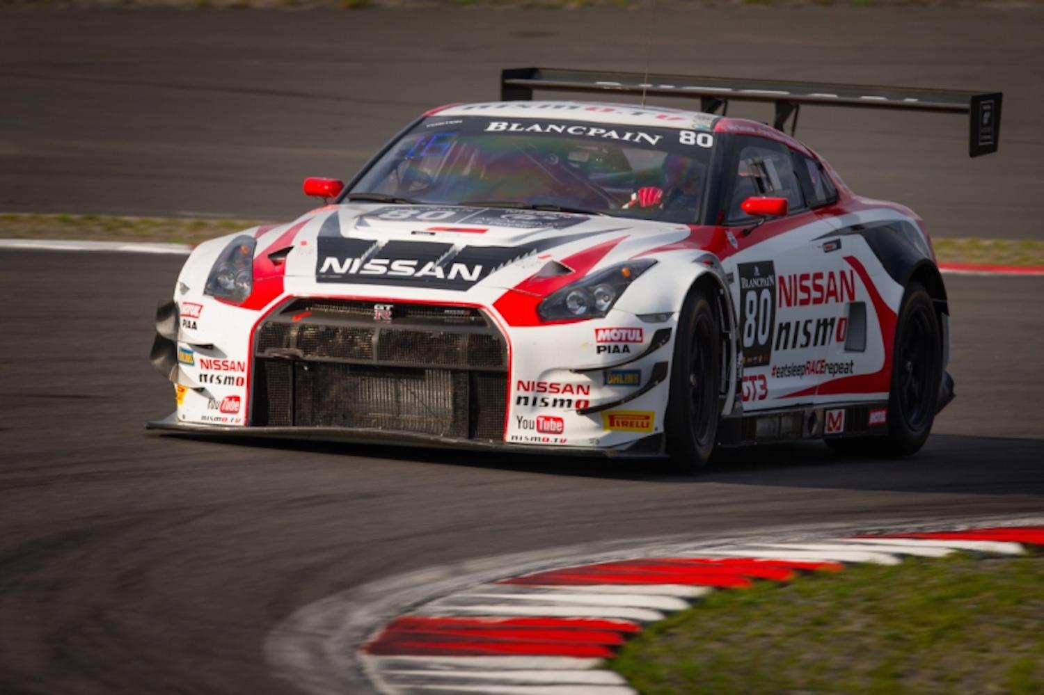 A Nissan Nismo Gt R Gt3 Flips Into The Nurburgring Crowd
