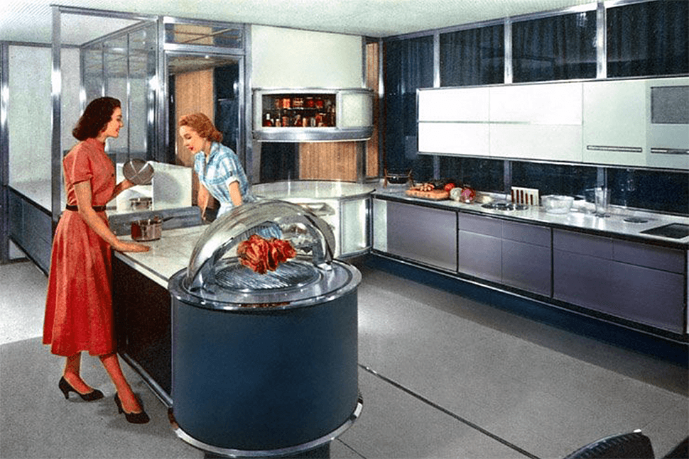 What the 1950s 39 kitchen of the future 39 got right and what for 50 s style kitchen designs