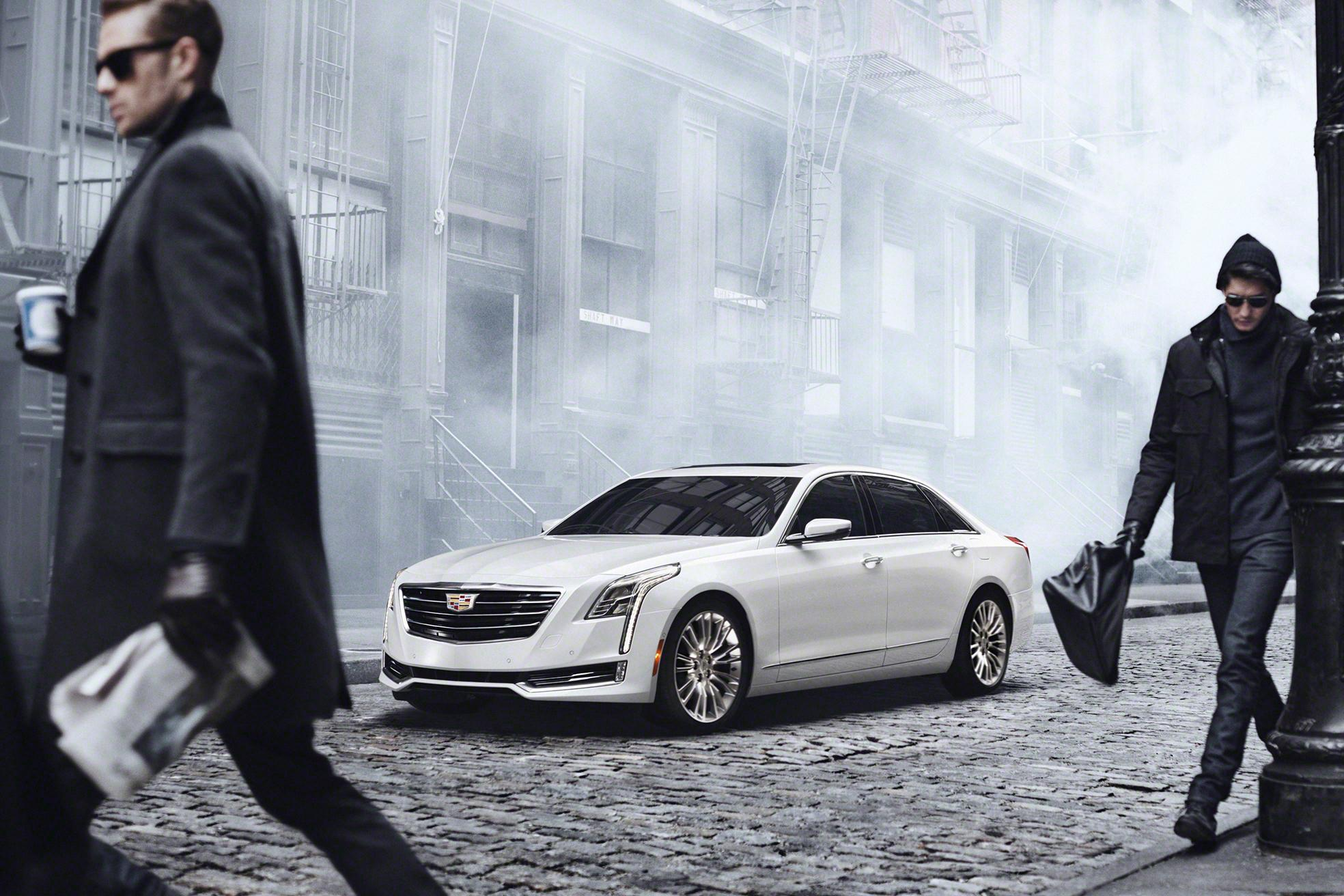 Sorry, gramps. Cadillac's new CT6 sedan is far too fast ...