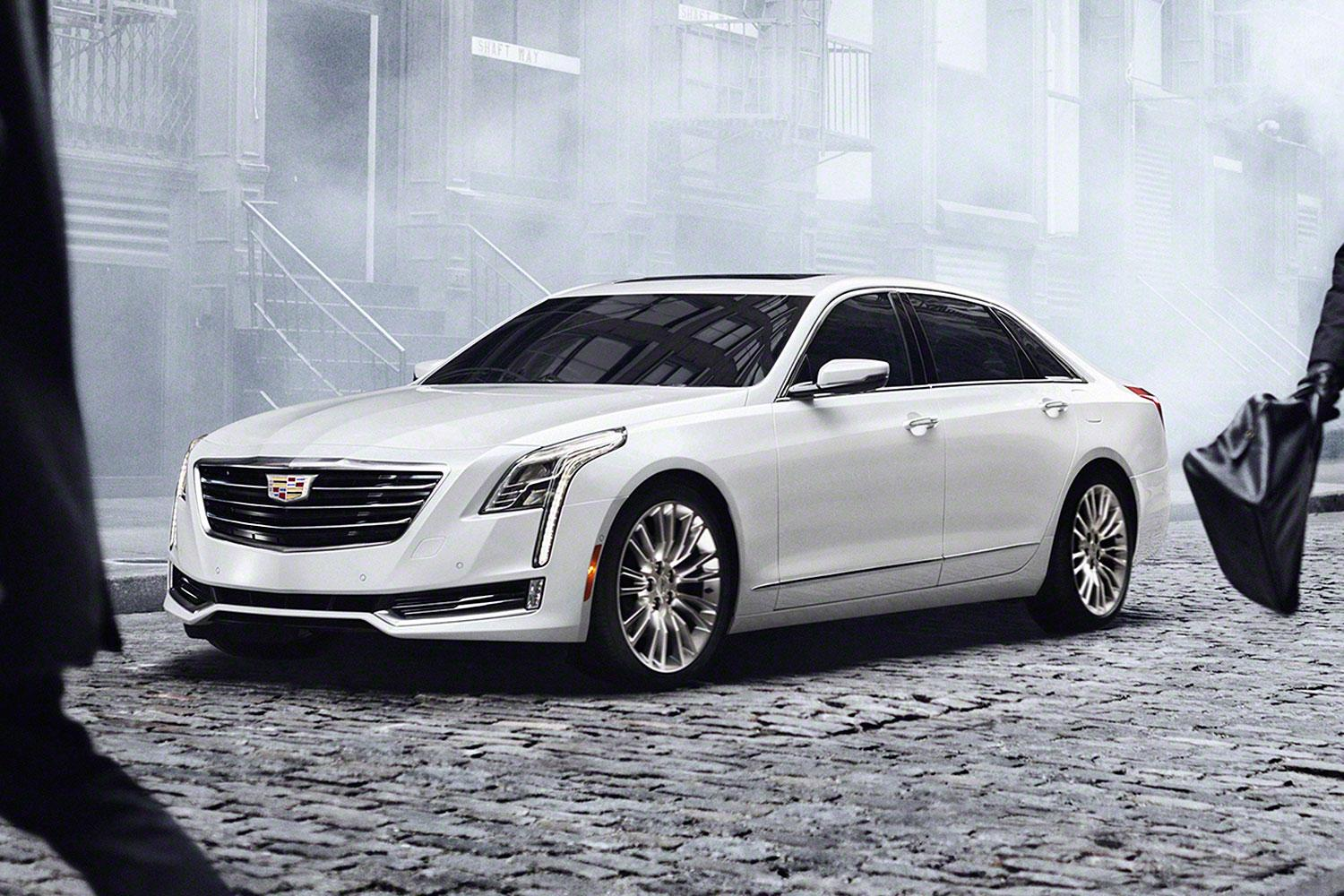 Cadillac's eco-friendly CT6 plug-in hybrid will wear a 'made in China' label