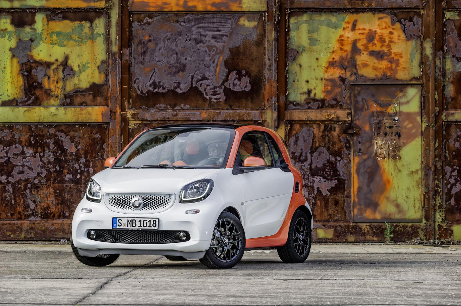 Smarts redesigned Fortwo Electric Drive will scoot into the Paris