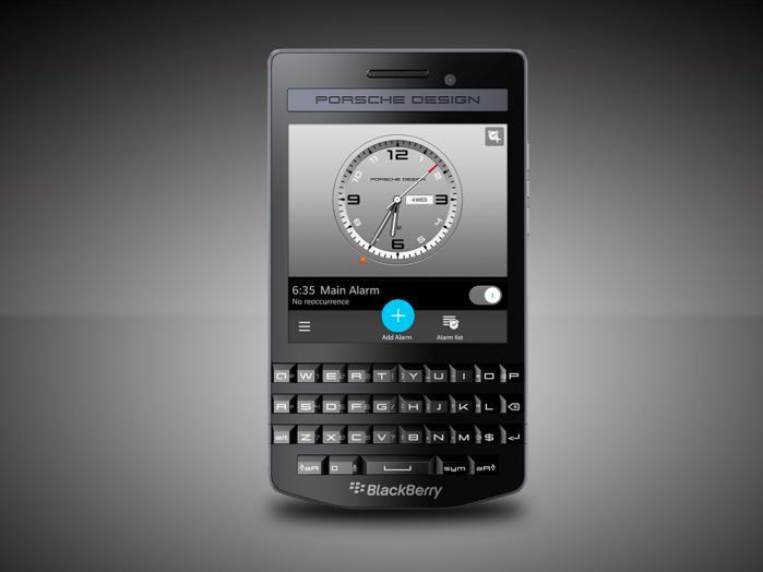For Some Reason Blackberry Released The 1 950 Porsche