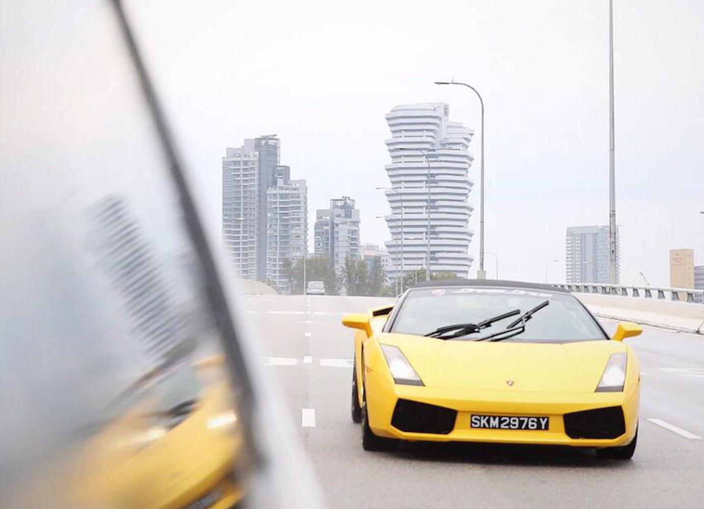 Uber Customers In Singapore Can Now Order Up A Lamborghini Or