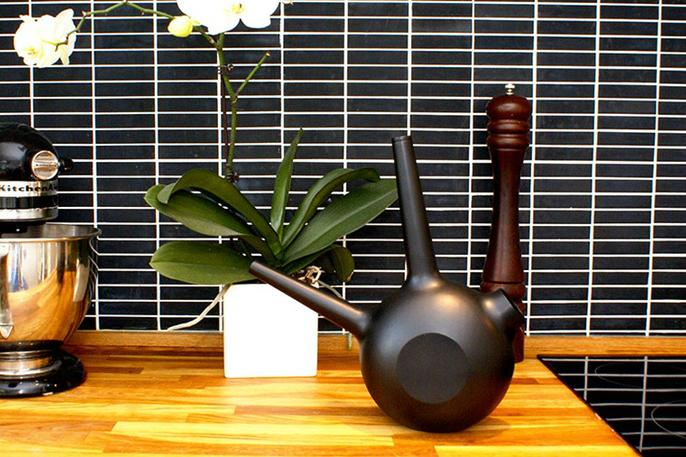 Did you forget to water your plants This smart watering can will