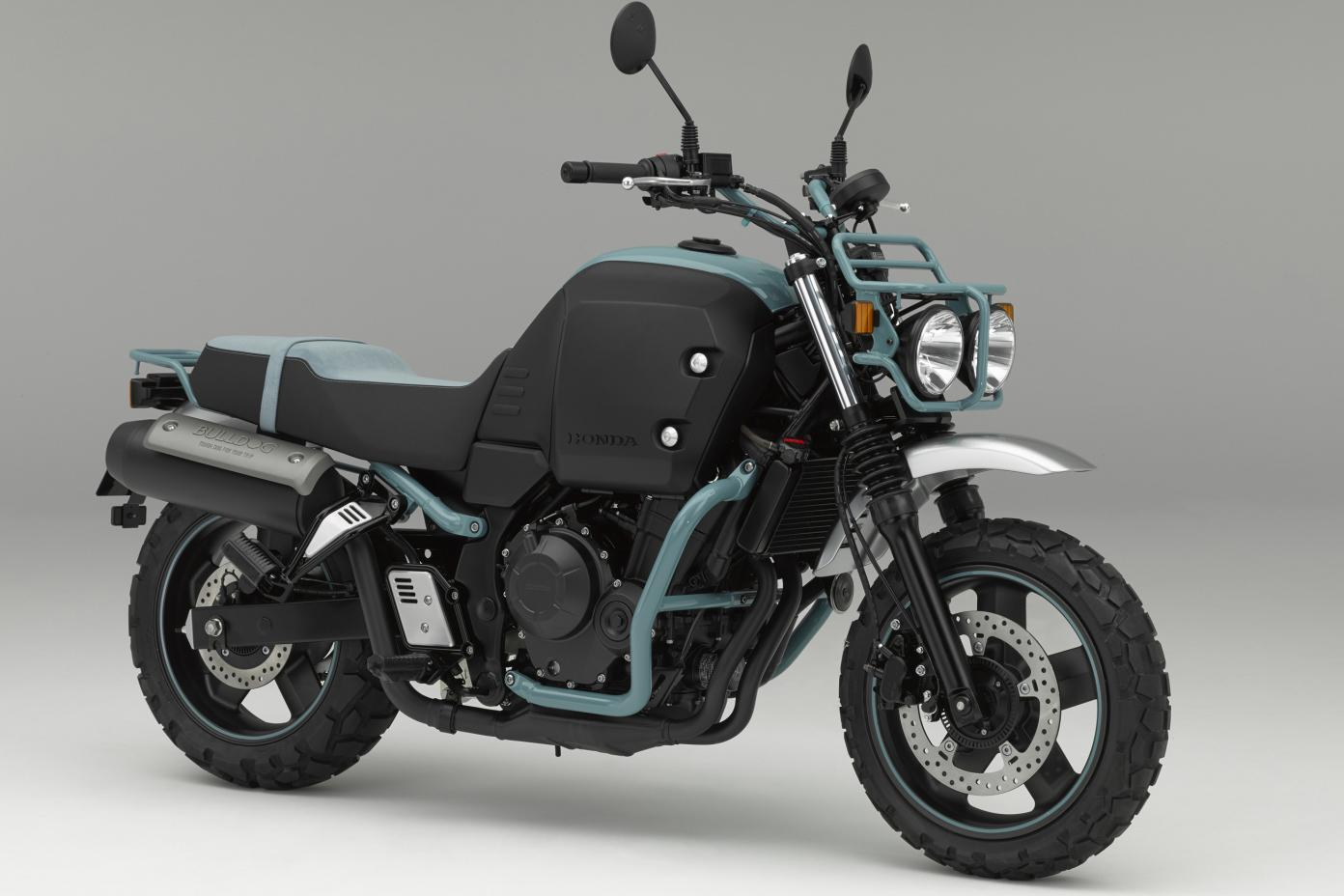 Speed Test Frontier >> Honda's Bulldog citybike concept is a bruiser with storage to spare