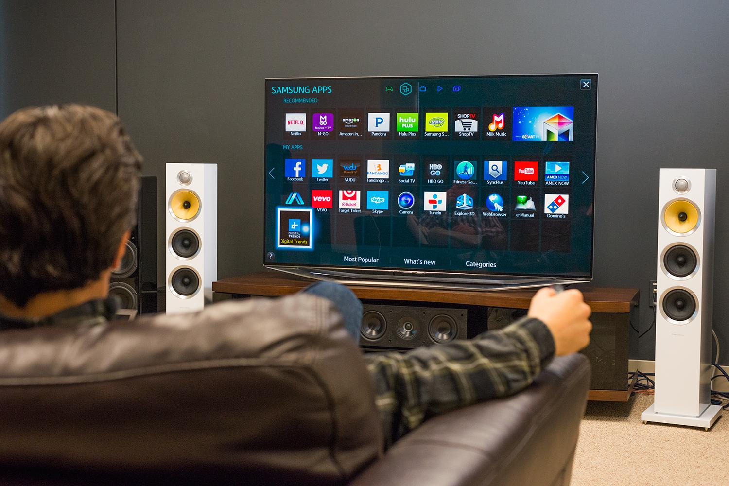 How we test televisions digital trends for Samsung smart tv living room