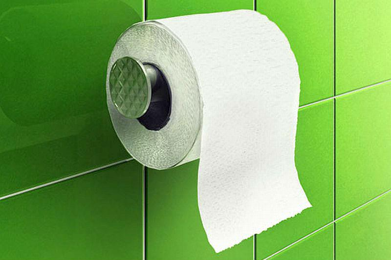 When was toilet paper inveted?