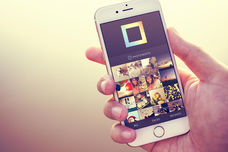 Instagram layout iphone