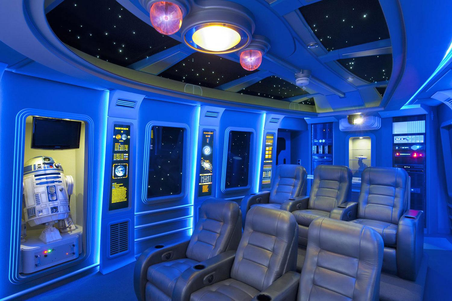 pics of the best star wars-inspired home theaters | digital trends