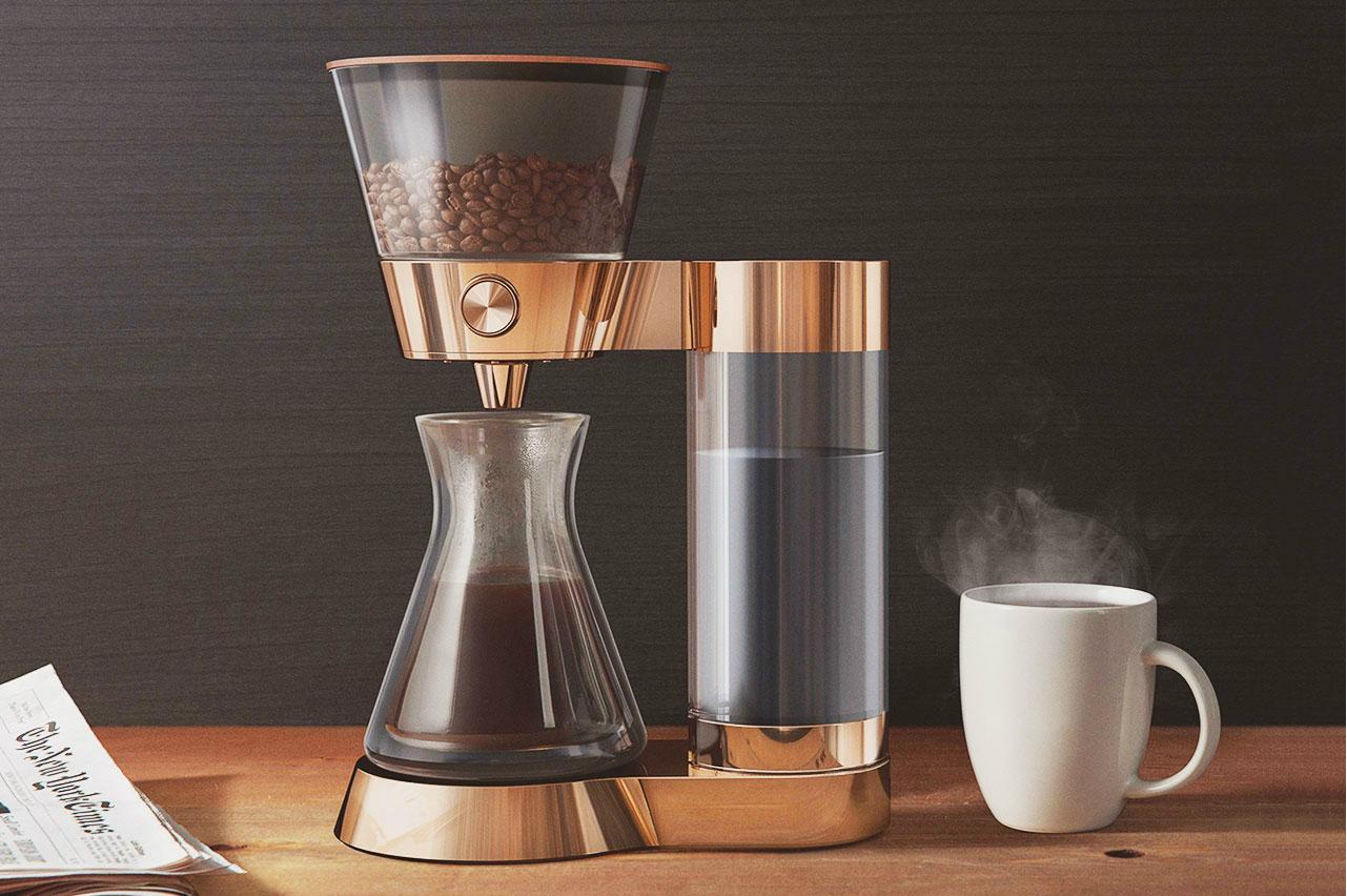 Pour Over Coffee Maker Benefits : Nearly out of beans? Your coffee maker will soon order you more, thanks to Amazon