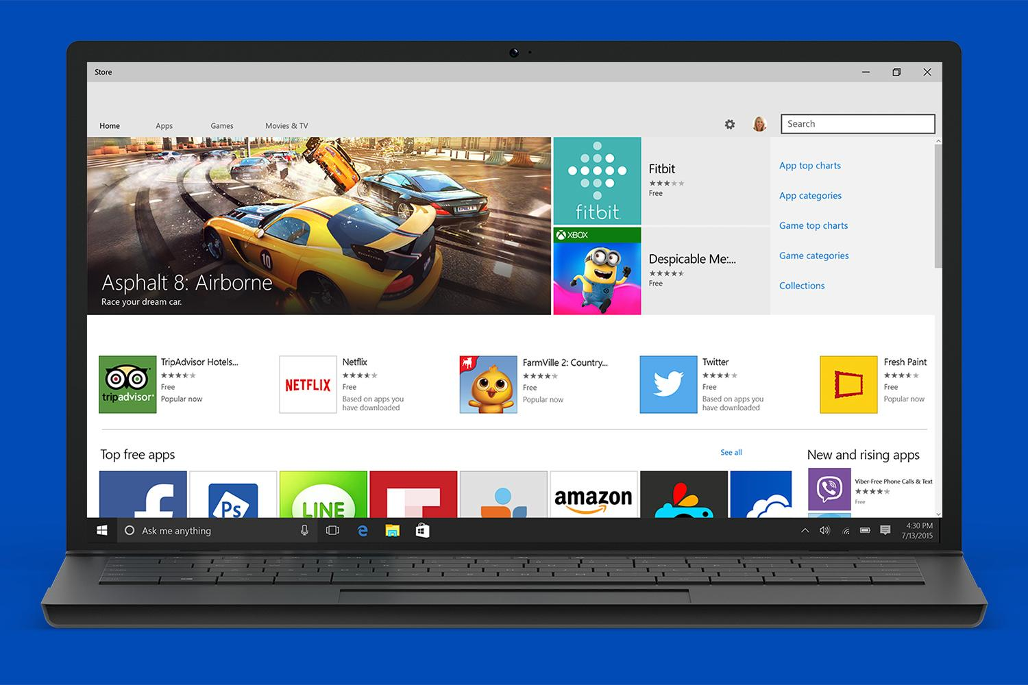 Microsoft Opens The Windows Store To Net And Win32 Apps