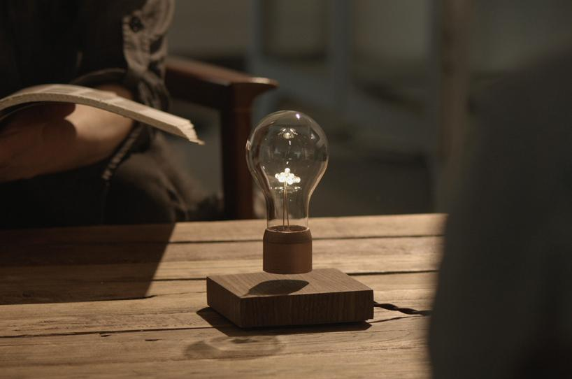 This Snazzy Led Lamp Uses Magnetic Levitation To Hover