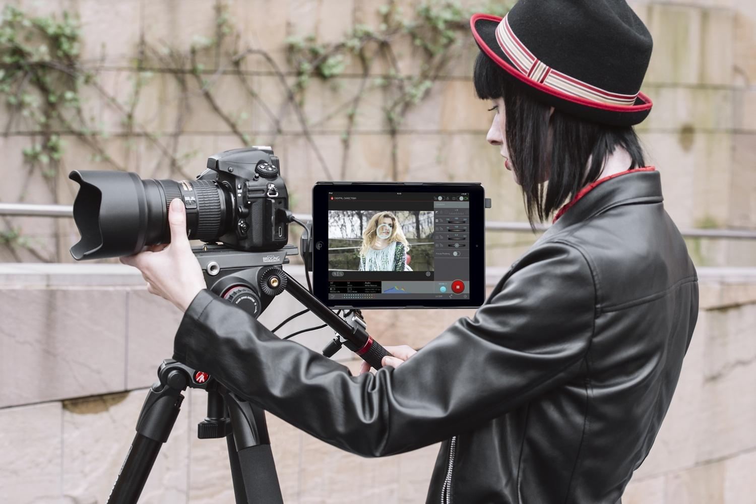 manfrotto digital director dslrcontroller now supports