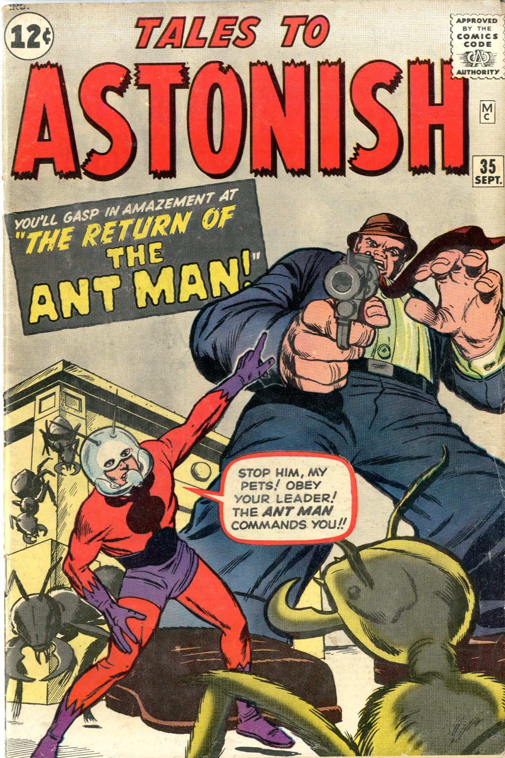 tales to astonish 1 ant-man