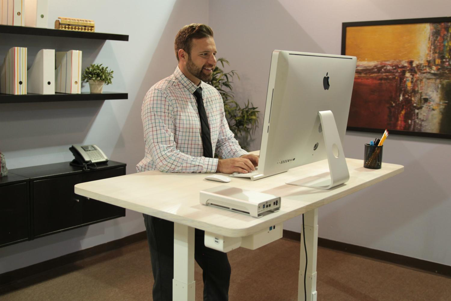 This Talking Desk Will Do Everything For You But Your