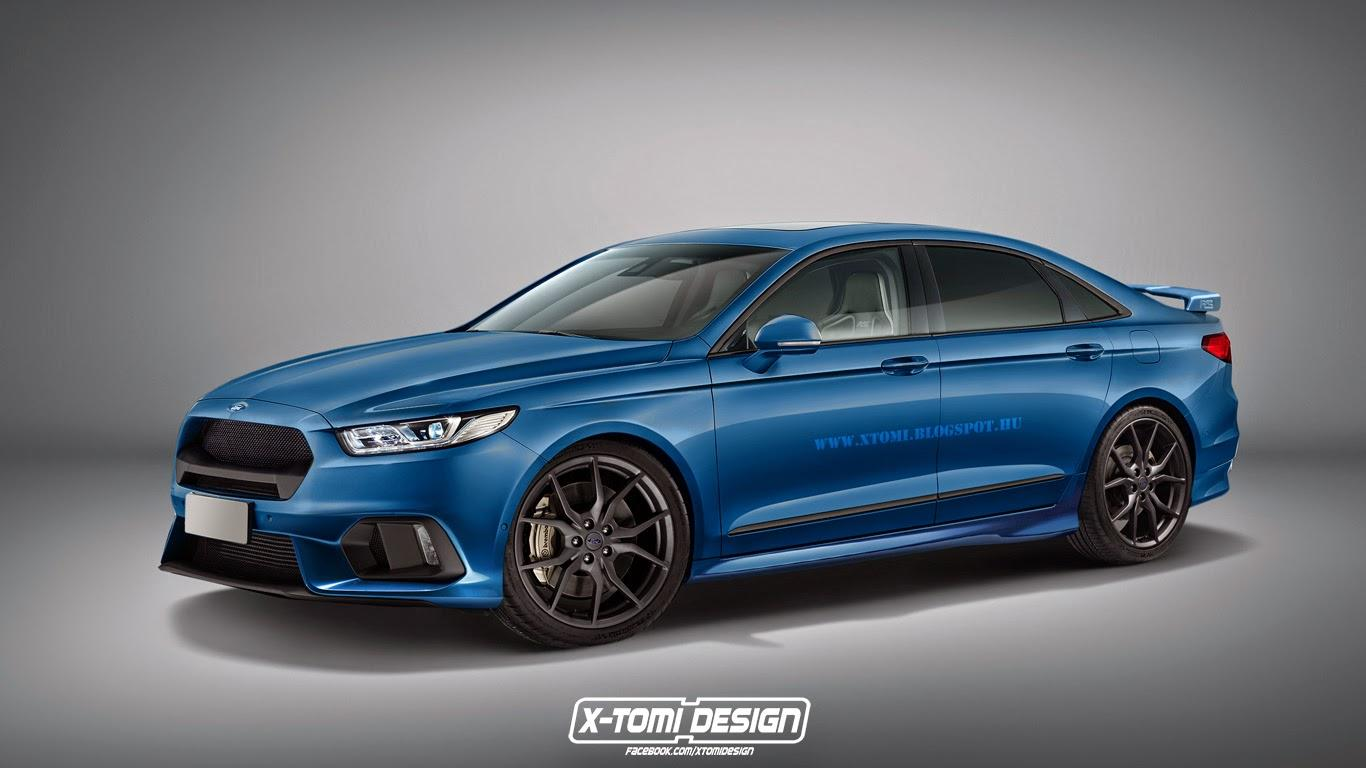 This unofficial rendering of a Ford Taurus RS makes us want to see this bull run for real
