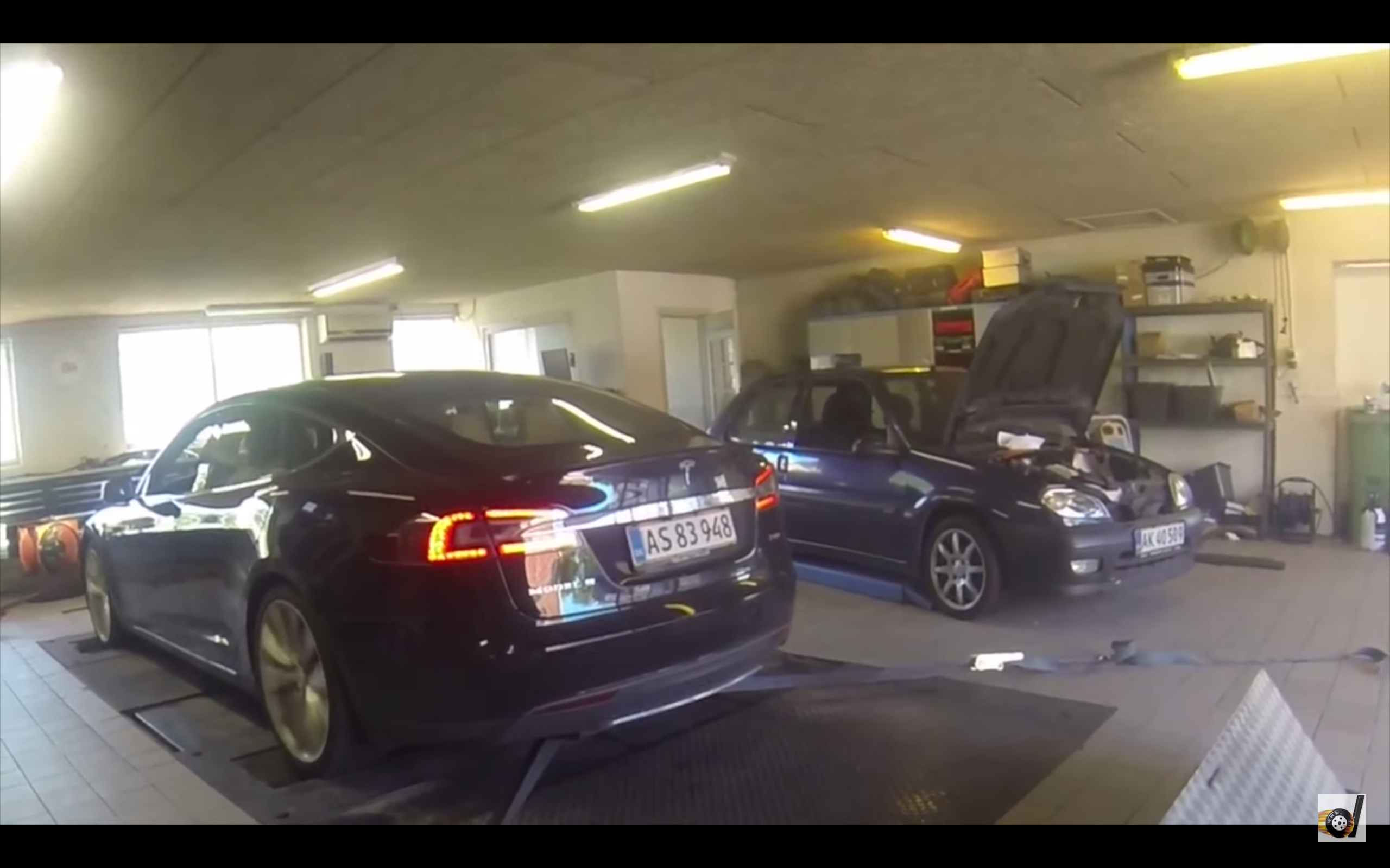 Ouch! Watch Tesla's Model S