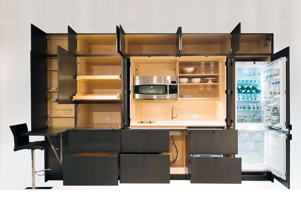 Space Saving Furniture For Small Rooms Stealth Kitchen 3