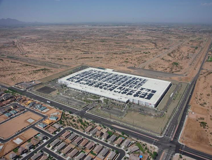 apple�s solarstudded data center in arizona catches fire