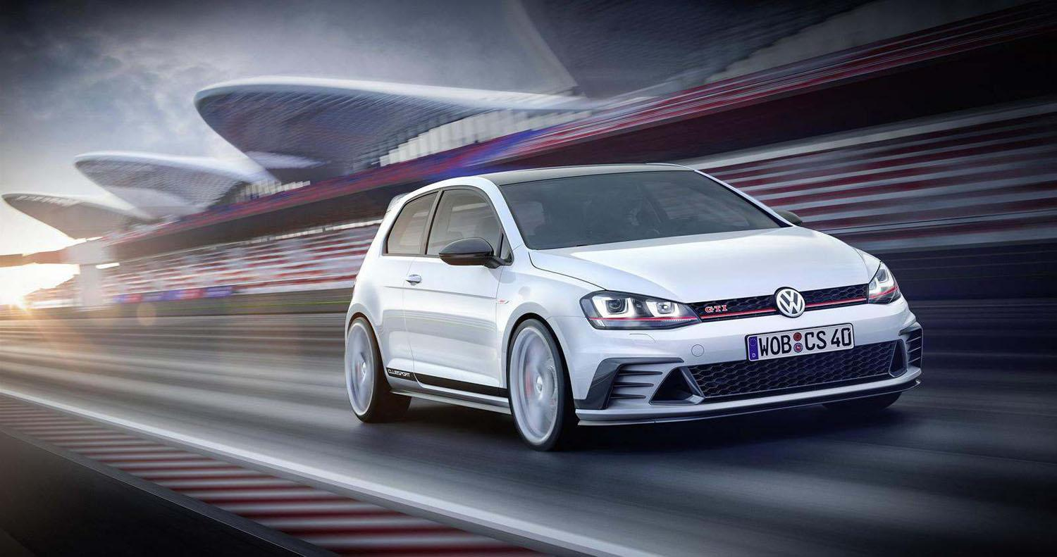 could volkswagen s 265 hp golf gti clubsport concept preview a hotter gti. Black Bedroom Furniture Sets. Home Design Ideas