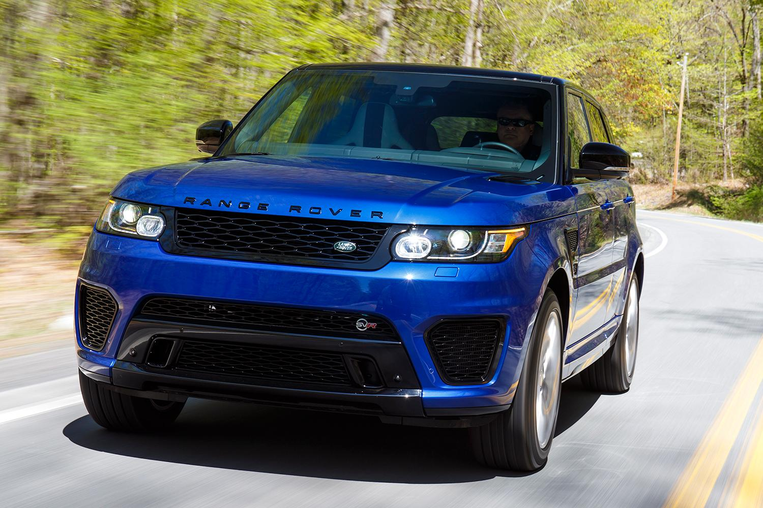 will a 575 hp v8 help the land rover range rover sport beat the porsche cayenne turbo. Black Bedroom Furniture Sets. Home Design Ideas