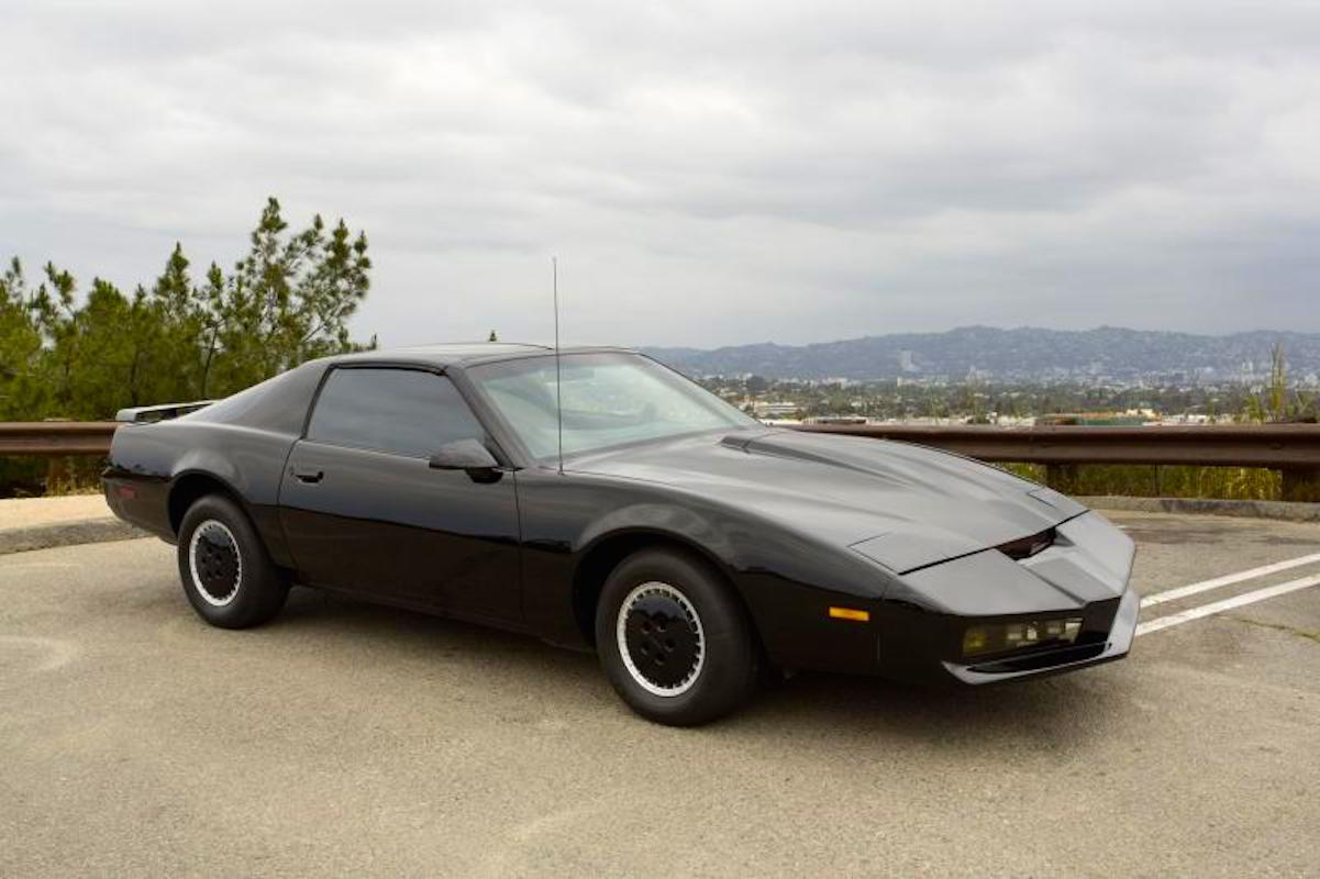 the original kitt from knight rider up for auction william daniels sadly not included. Black Bedroom Furniture Sets. Home Design Ideas