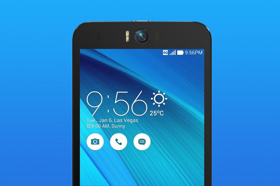 The Asus ZenFone Selfie's 13-megapixel front camera makes you the