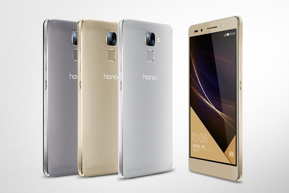 Huawei's Honor 7, with a fingerprint sensor and 20MP ...