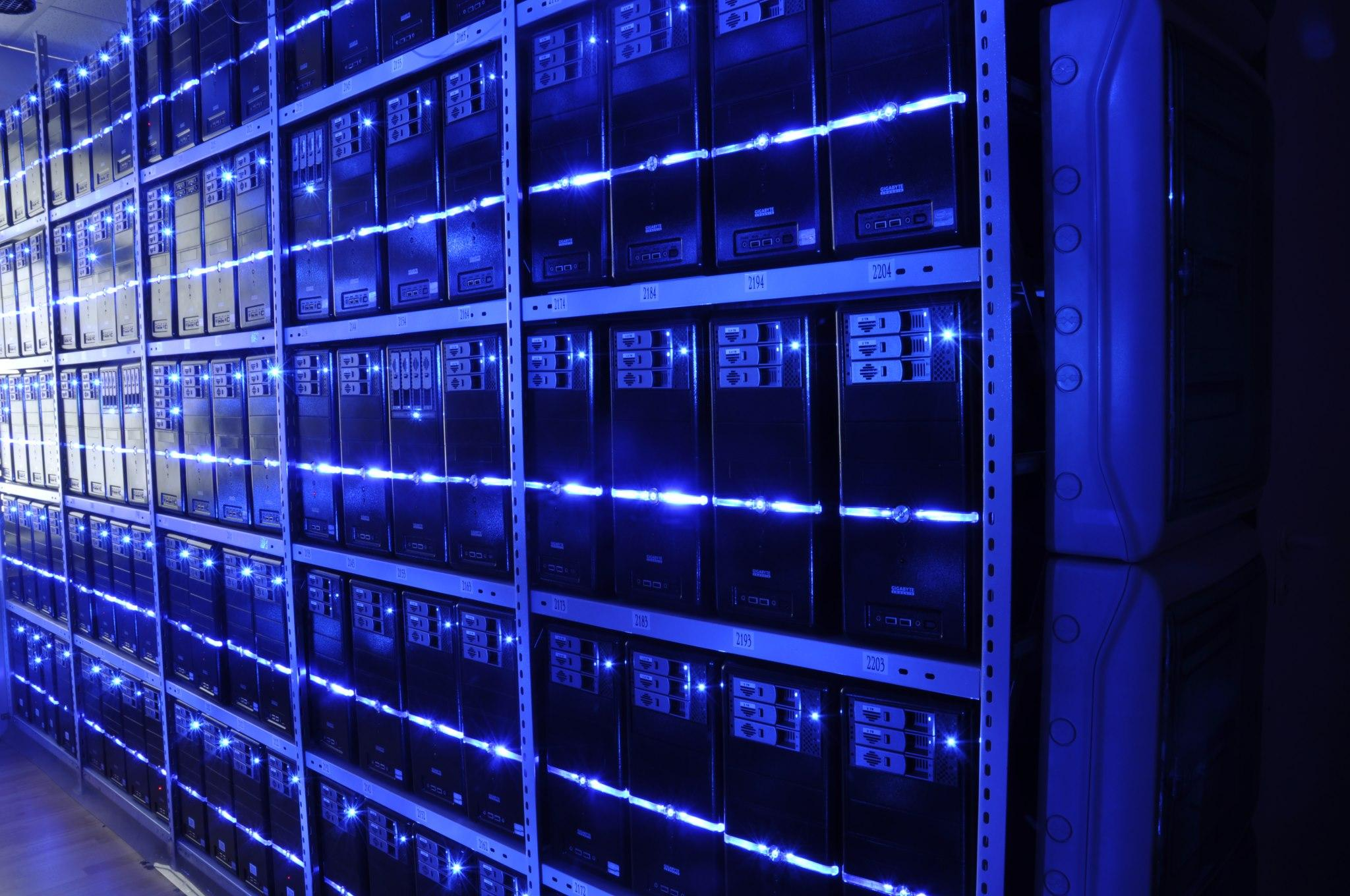 Server Room Photography : Microsoft is opening new data centers in canada to keep