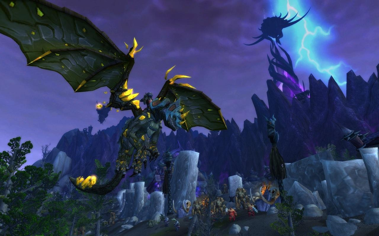 How to get Draenor Pathfinder to fly in Draenor