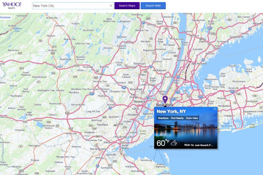 it s the end of the road for yahoo s maps site