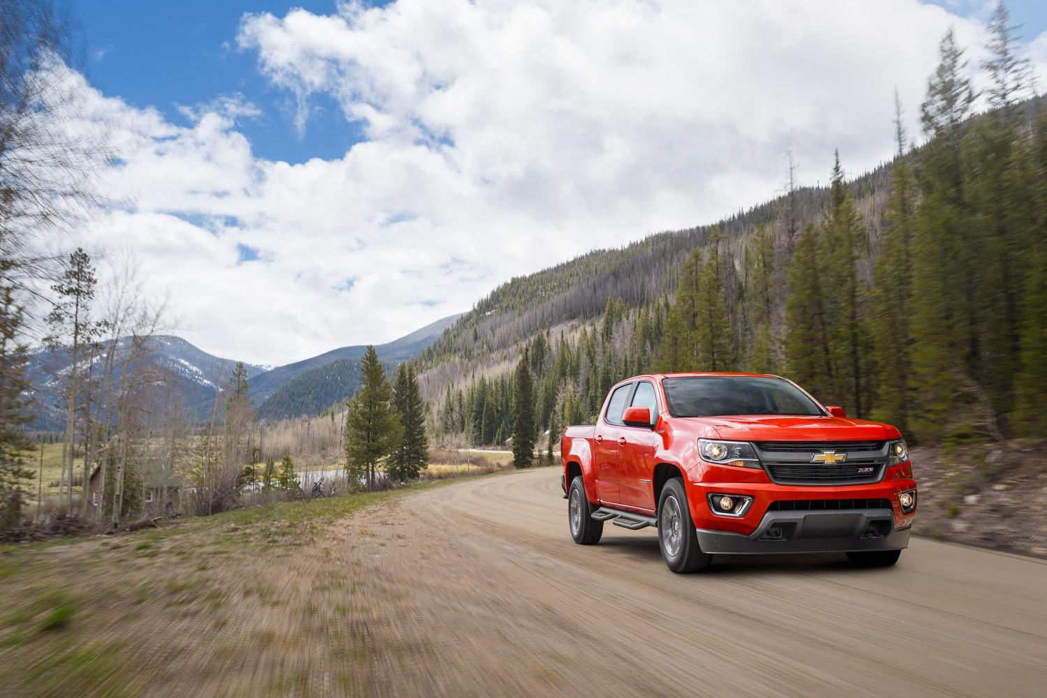 Chevrolet Colorado: What Tacoma, Ridgeline Don't Have