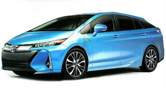 toyota s redesigned 2016 prius reportedly appears online with detailed information. Black Bedroom Furniture Sets. Home Design Ideas