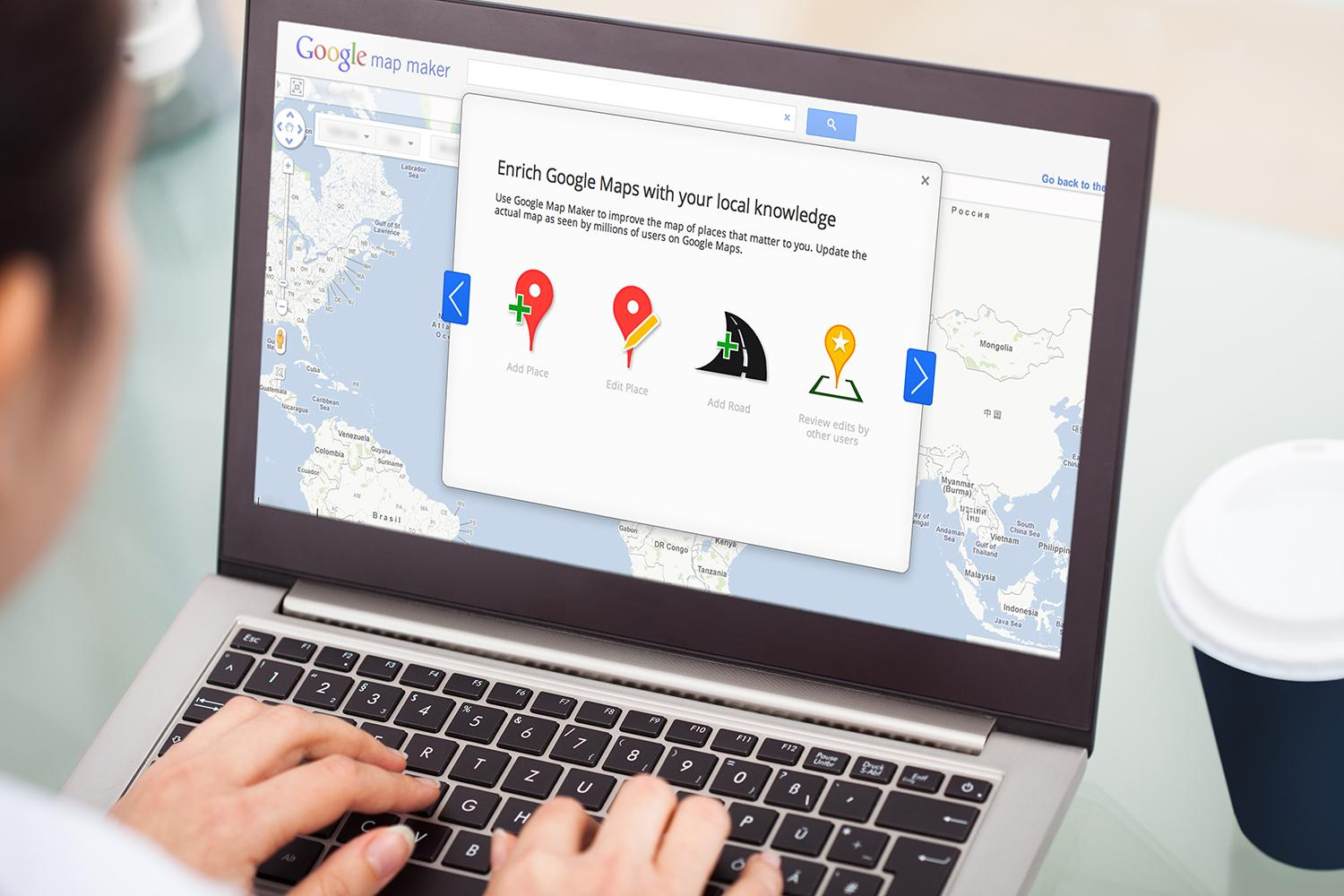 Google Map Maker Relaunches In US Complete With Antiprank - Us map making software