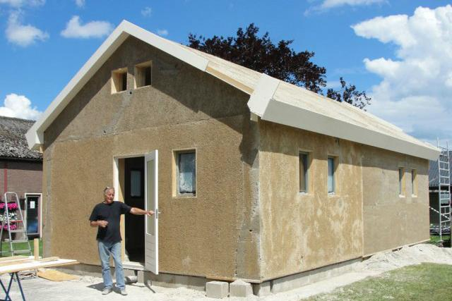 People In Grass Houses Hempcrete Is The Ultimate Green