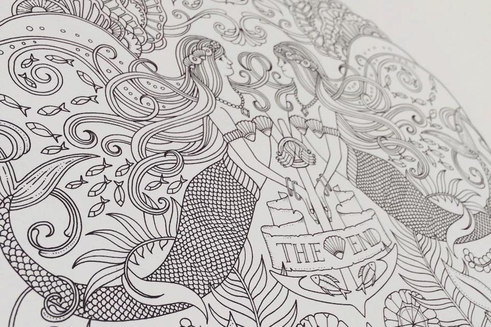 Adult Coloring Books On Social Networks Lost Ocean Johanna Basford