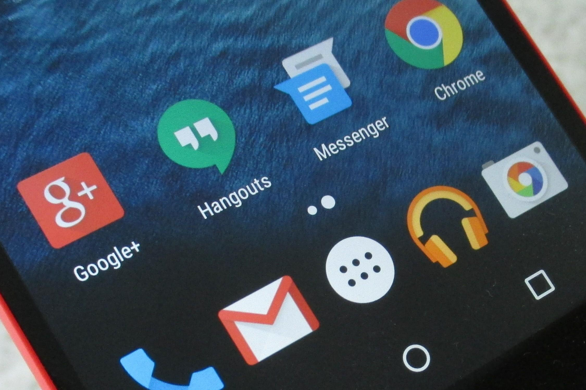 Android OEMs no longer required to preinstall Hangouts on their smartphones