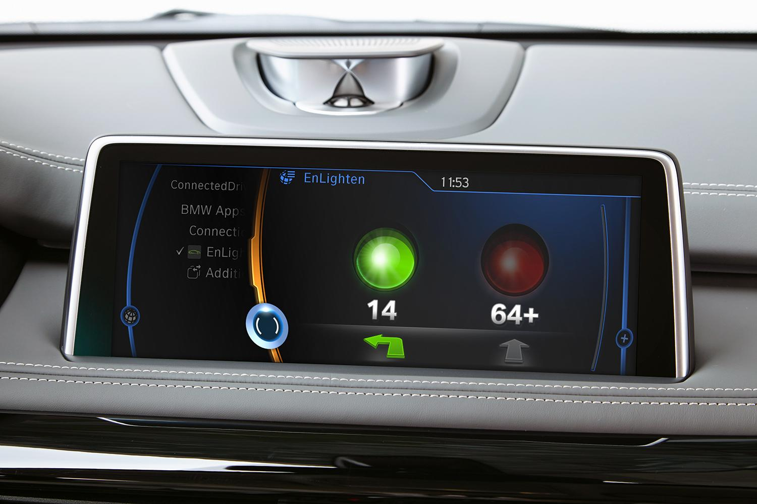 enlighten app predicts traffic lights  works with bmw apps