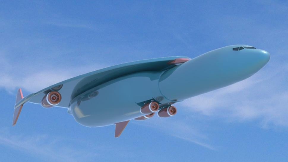 airbus just patented a jet capable of flying new york to london in