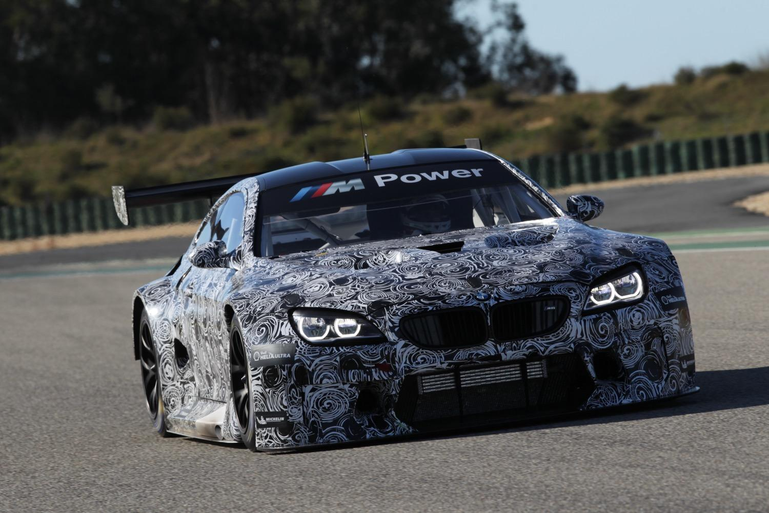 The Camo Will Finally Come Off Bmw S M6 Gt3 In Frankfurt