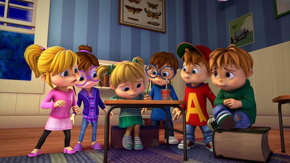 Alvin a Chipmunkové / Alvinnn!!! And the Chipmunks (2015-201