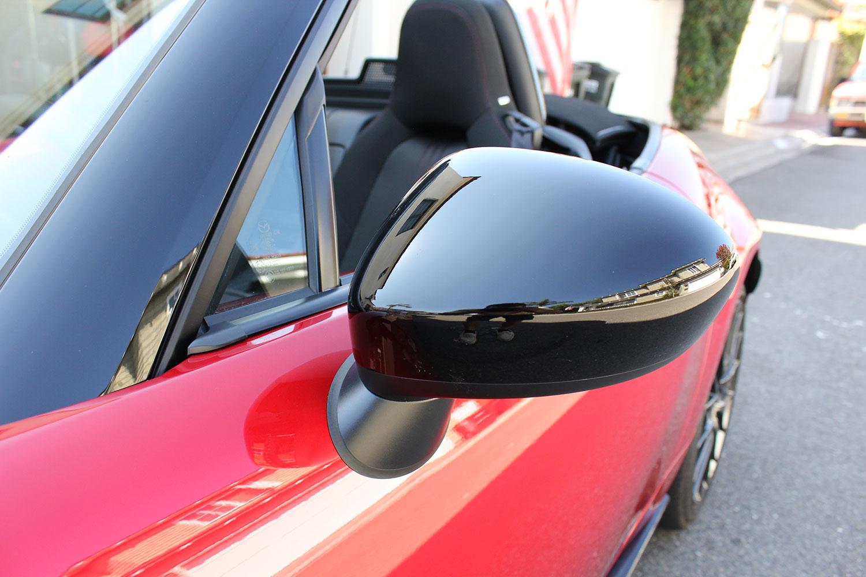 mazda mx miata review side mirror