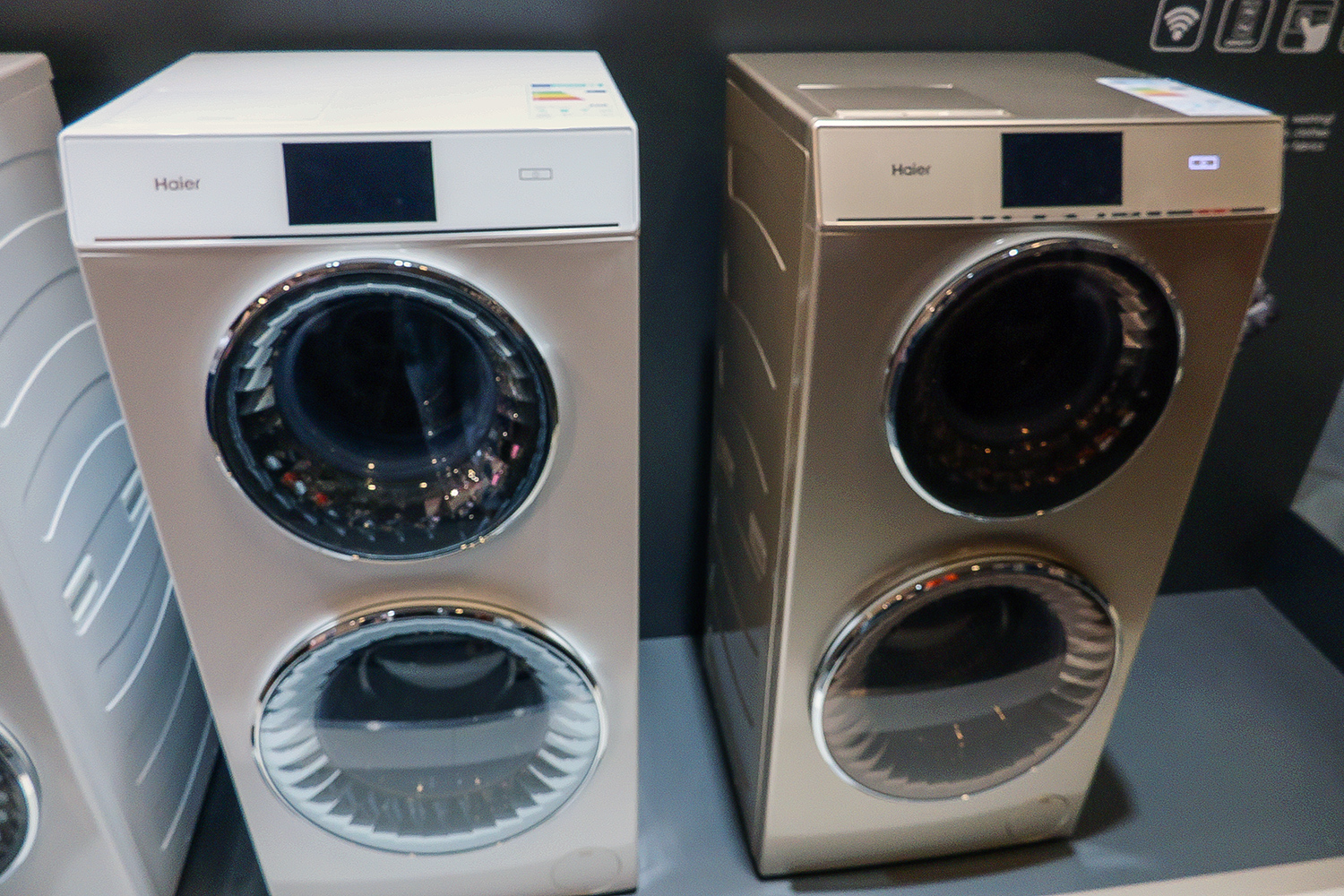 Haier Washing Machine ~ The haier duo is two washing machines in one